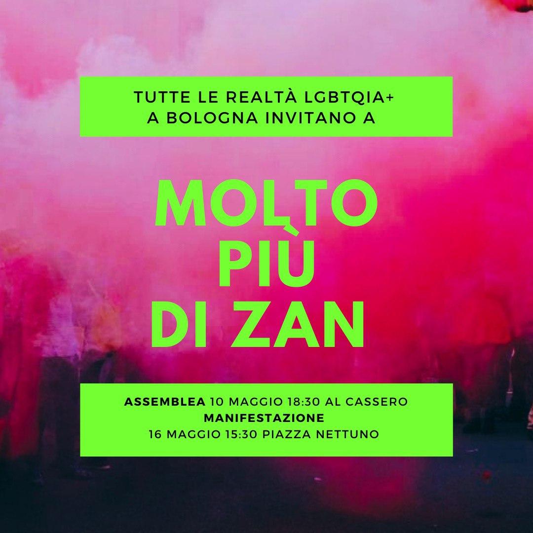 #Moltopiùdizana Bologna 10 e 16 Maggio 2021